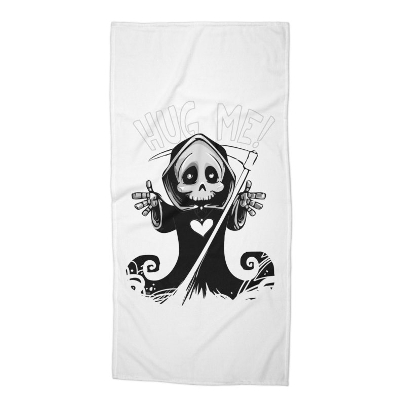 Hug Me To Death Accessories Beach Towel by Shirt For Brains