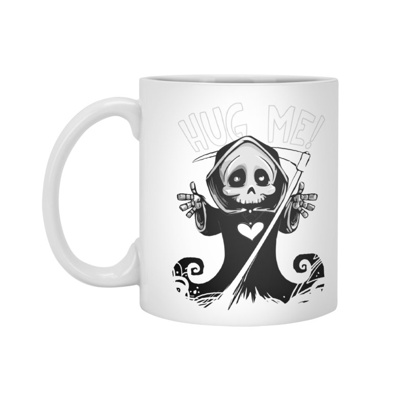 Hug Me To Death Accessories Standard Mug by Shirt For Brains