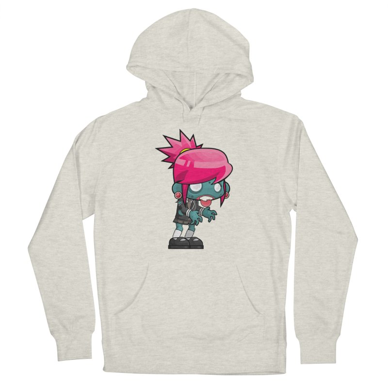 Zombie Girl Men's Pullover Hoody by Shirt For Brains