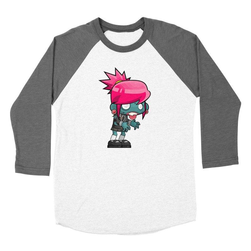 Zombie Girl Women's Longsleeve T-Shirt by Shirt For Brains