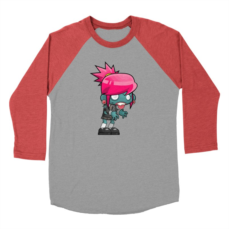 Zombie Girl Men's Longsleeve T-Shirt by Shirt For Brains