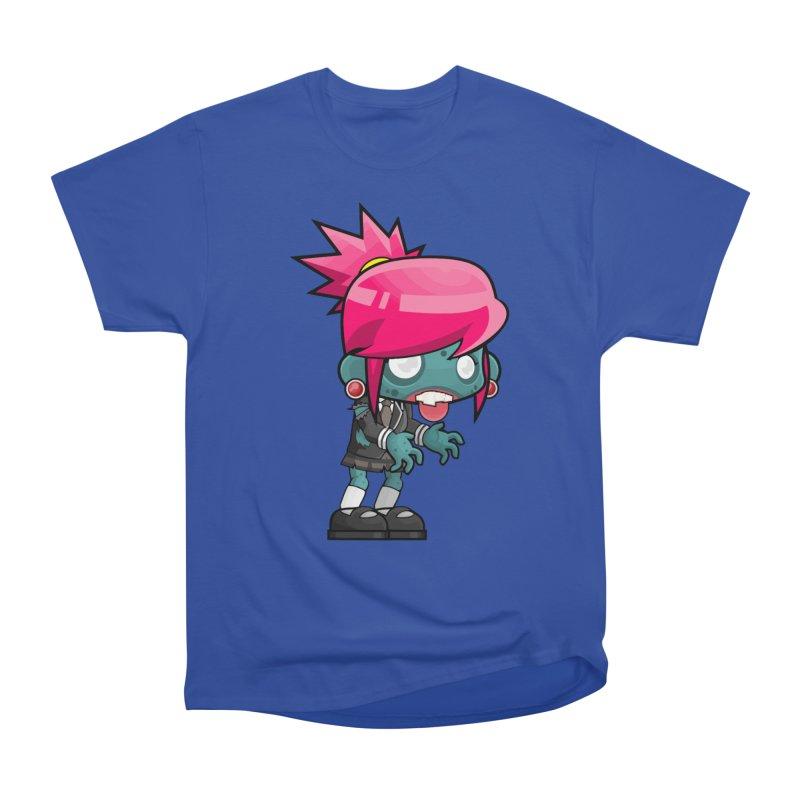 Zombie Girl Men's Heavyweight T-Shirt by Shirt For Brains