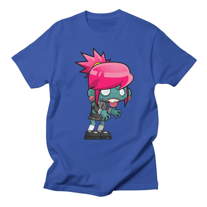 Zombie Girl Men's T-Shirt by Shirt For Brains