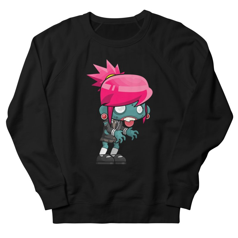 Zombie Girl Women's Sweatshirt by Shirt For Brains