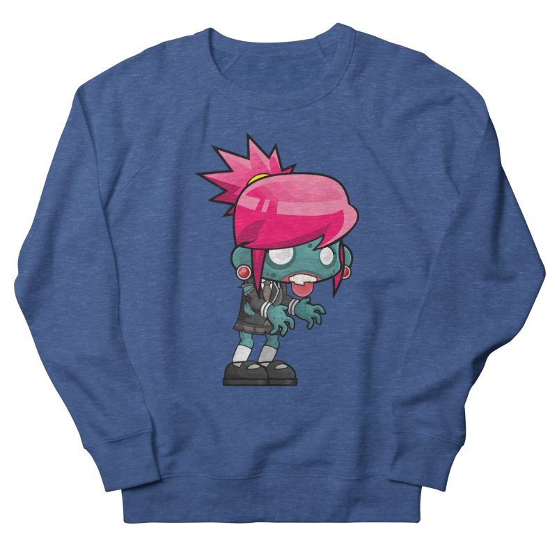 Zombie Girl Men's Sweatshirt by Shirt For Brains