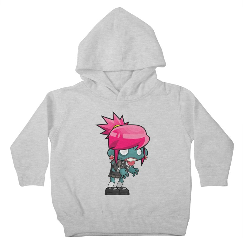 Zombie Girl Kids Toddler Pullover Hoody by Shirt For Brains