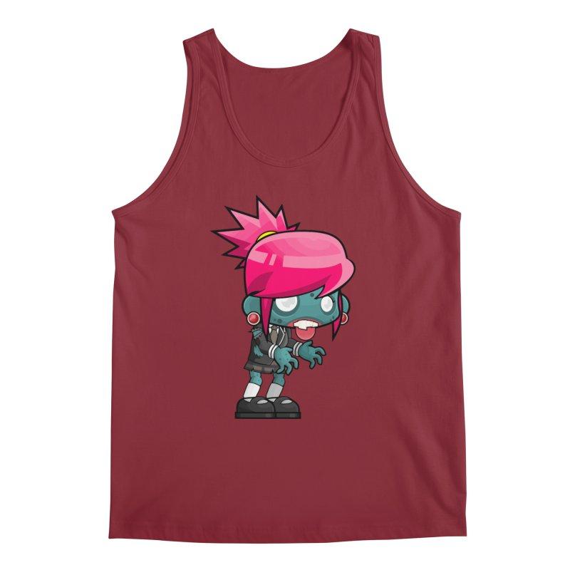 Zombie Girl Men's Regular Tank by Shirt For Brains