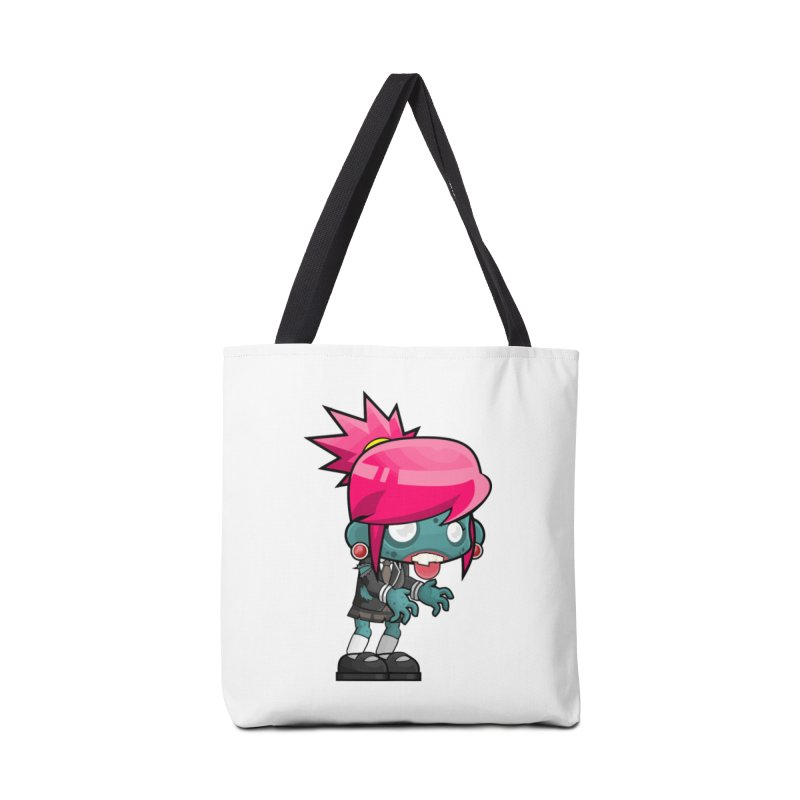 Zombie Girl Accessories Bag by Shirt For Brains