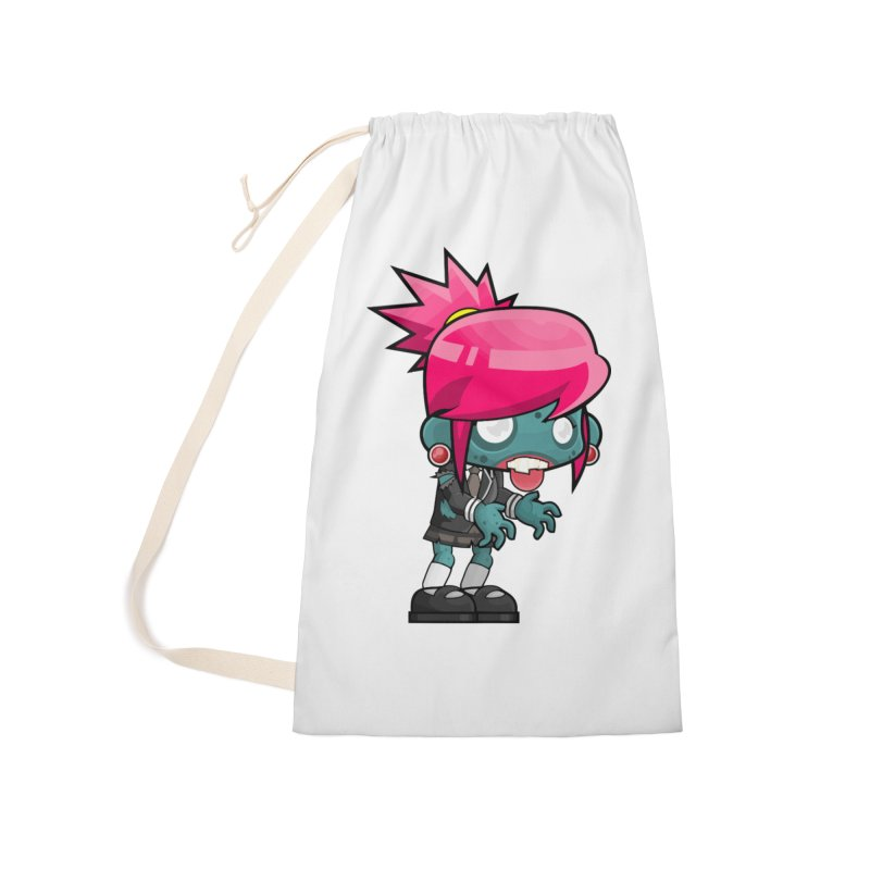 Zombie Girl Accessories Laundry Bag Bag by Shirt For Brains