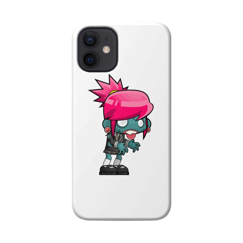 Zombie Girl Accessories Phone Case by Shirt For Brains