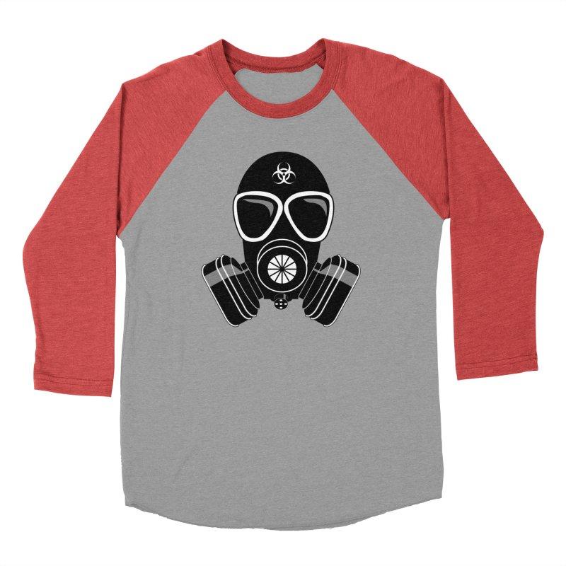 Gas Mask Men's Longsleeve T-Shirt by Shirt For Brains