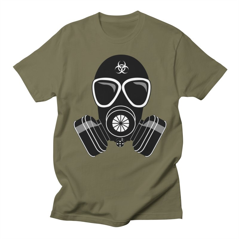 Gas Mask Women's Regular Unisex T-Shirt by Shirt For Brains
