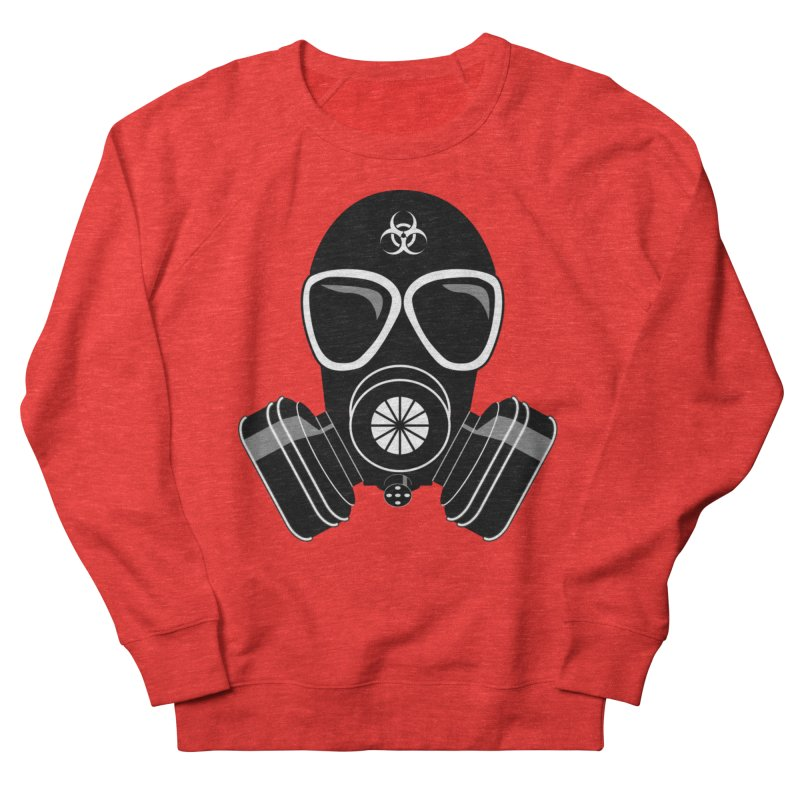 Gas Mask Women's Sweatshirt by Shirt For Brains