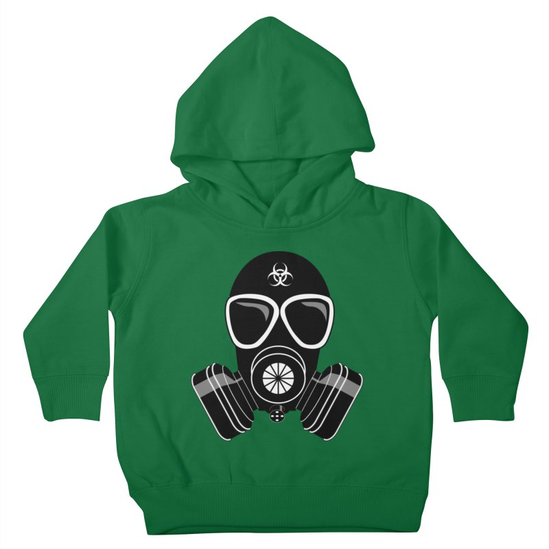 Gas Mask Kids Toddler Pullover Hoody by Shirt For Brains