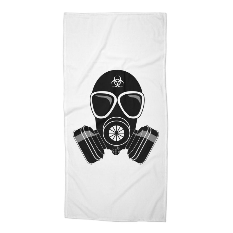 Gas Mask Accessories Beach Towel by Shirt For Brains