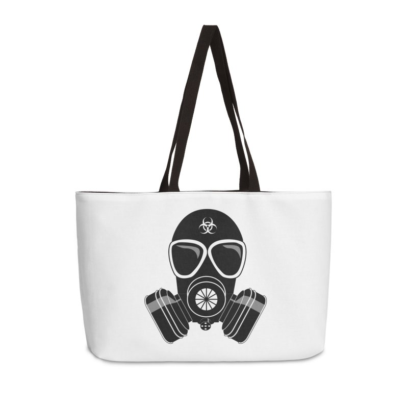 Gas Mask Accessories Bag by Shirt For Brains