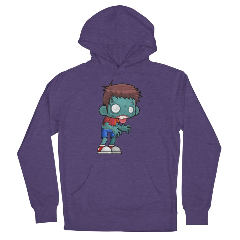 Zombie Boy Women's Pullover Hoody by Shirt For Brains