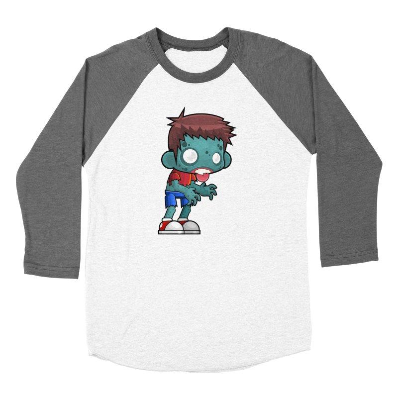 Zombie Boy Women's Longsleeve T-Shirt by Shirt For Brains