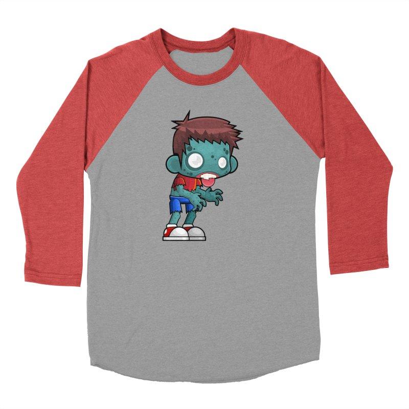 Zombie Boy Men's Longsleeve T-Shirt by Shirt For Brains