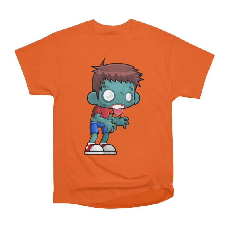 Zombie Boy Men's T-Shirt by Shirt For Brains