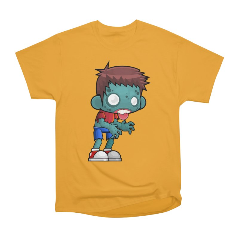 Zombie Boy Men's Heavyweight T-Shirt by Shirt For Brains
