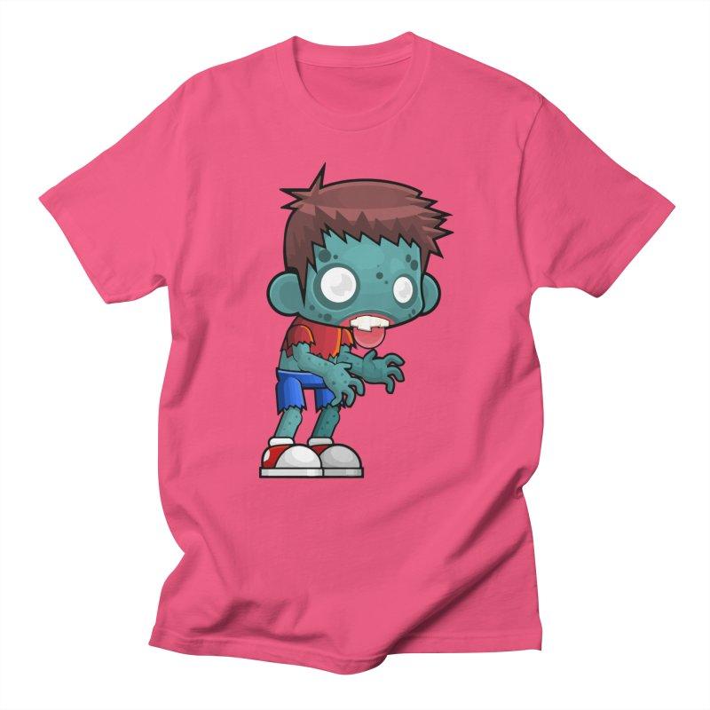 Zombie Boy Men's Regular T-Shirt by Shirt For Brains