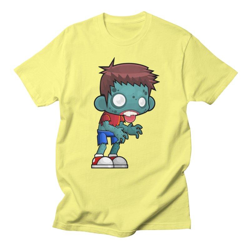 Zombie Boy Women's Regular Unisex T-Shirt by Shirt For Brains
