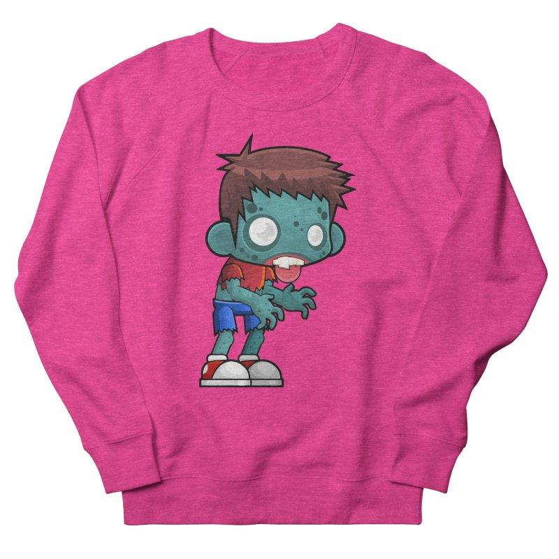 Zombie Boy Women's Sweatshirt by Shirt For Brains