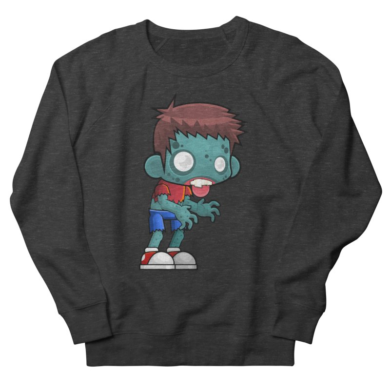 Zombie Boy Men's Sweatshirt by Shirt For Brains