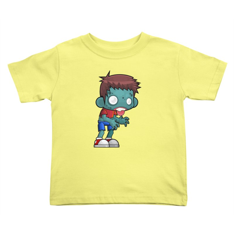 Zombie Boy Kids Toddler T-Shirt by Shirt For Brains
