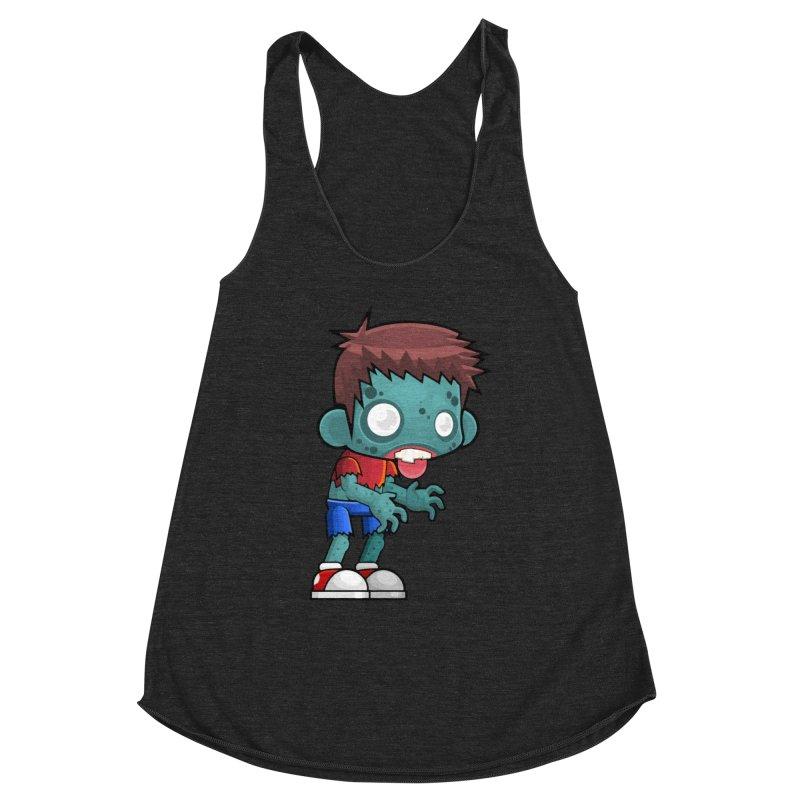 Zombie Boy Women's Tank by Shirt For Brains