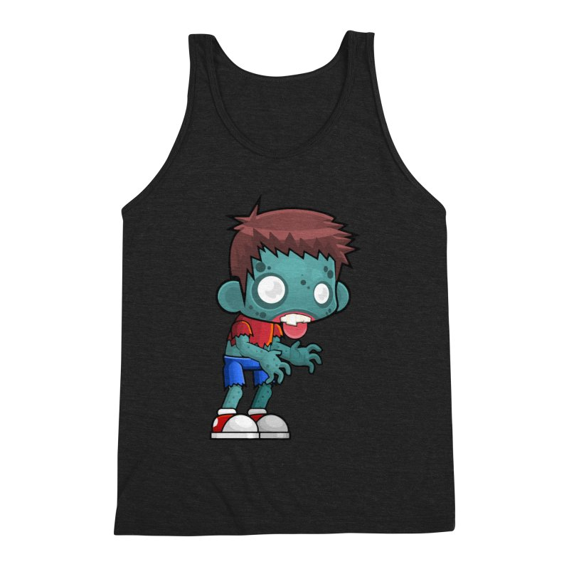 Zombie Boy Men's Tank by Shirt For Brains