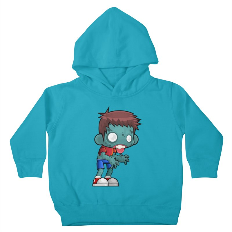 Zombie Boy Kids Toddler Pullover Hoody by Shirt For Brains