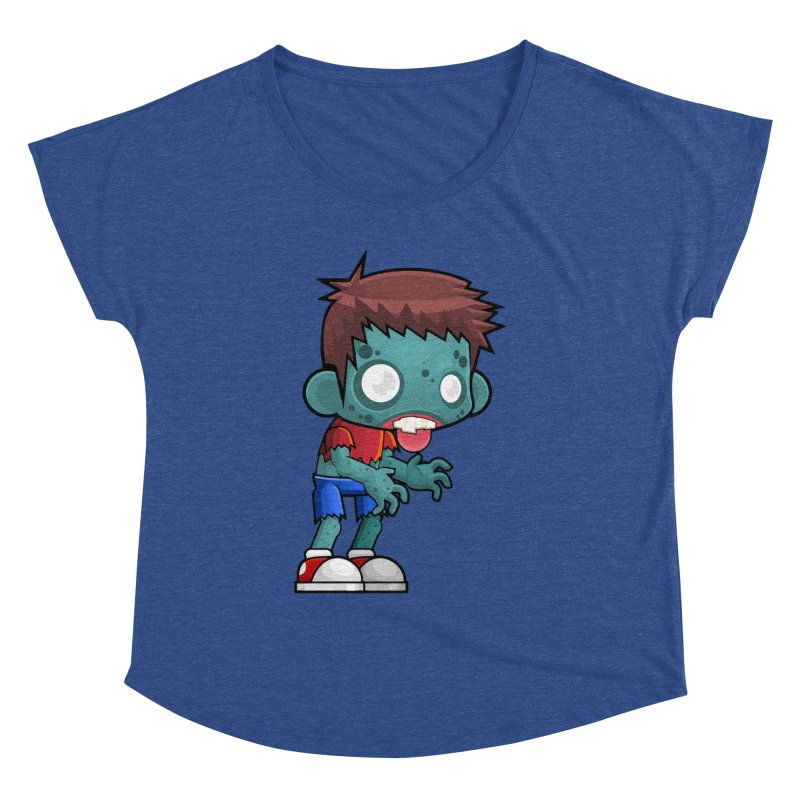 Zombie Boy Women's Dolman Scoop Neck by Shirt For Brains