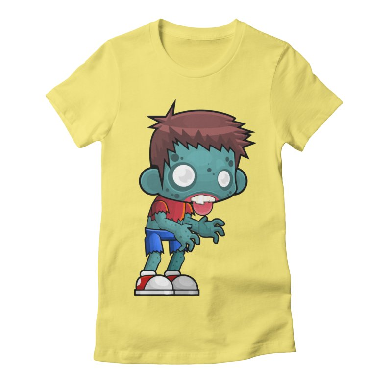 Zombie Boy Women's T-Shirt by Shirt For Brains