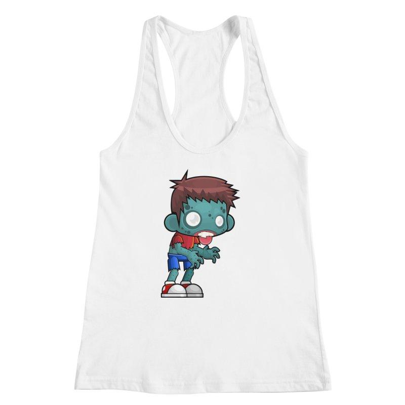 Zombie Boy Women's Racerback Tank by Shirt For Brains