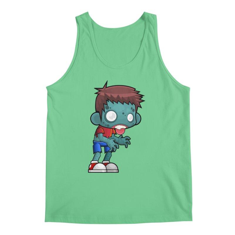 Zombie Boy Men's Regular Tank by Shirt For Brains