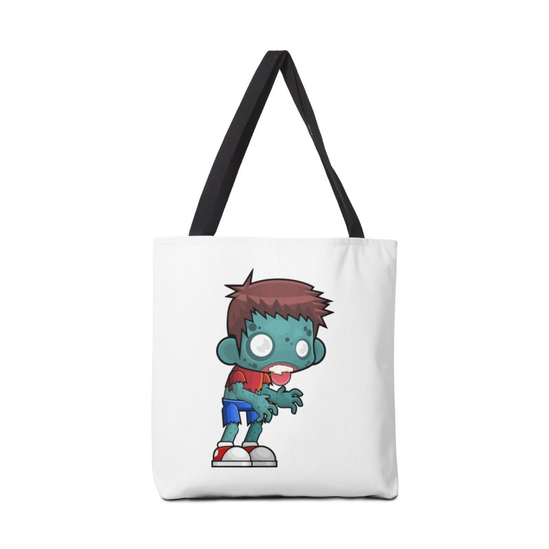 Zombie Boy Accessories Bag by Shirt For Brains