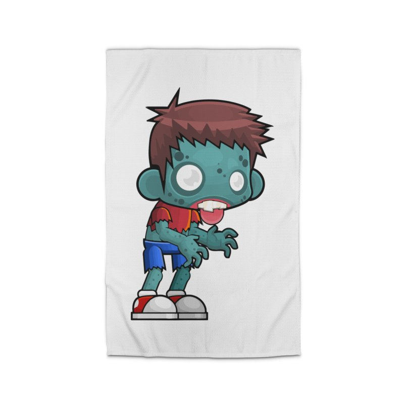 Zombie Boy Home Rug by Shirt For Brains