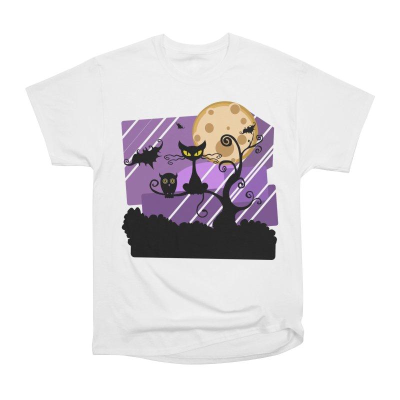 Halloween Night Men's T-Shirt by Shirt For Brains
