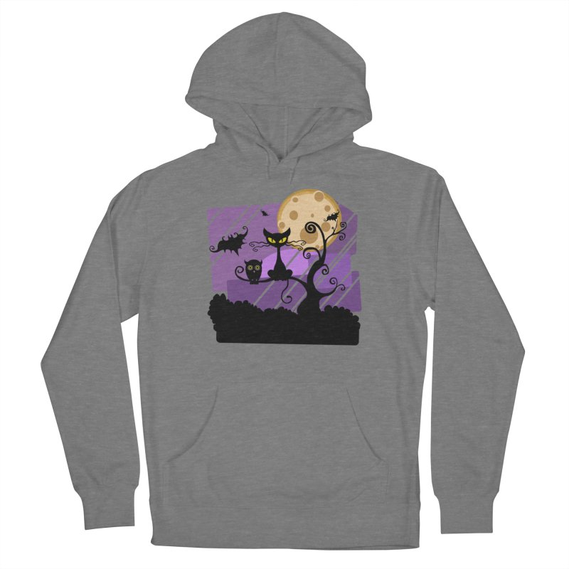 Halloween Night Women's Pullover Hoody by Shirt For Brains
