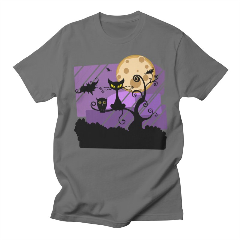 Halloween Night Women's T-Shirt by Shirt For Brains