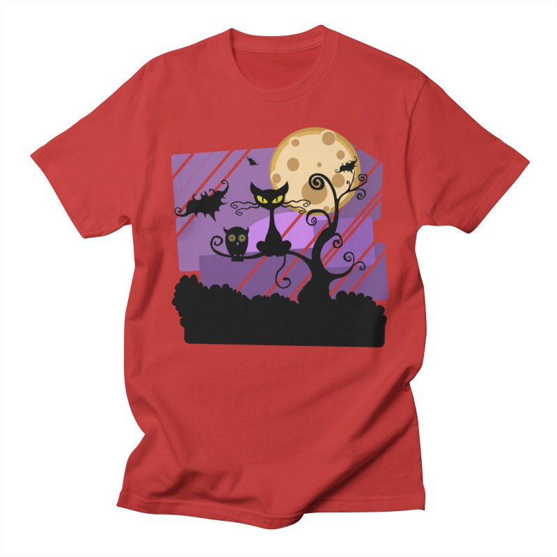Halloween Night Women's Regular Unisex T-Shirt by Shirt For Brains