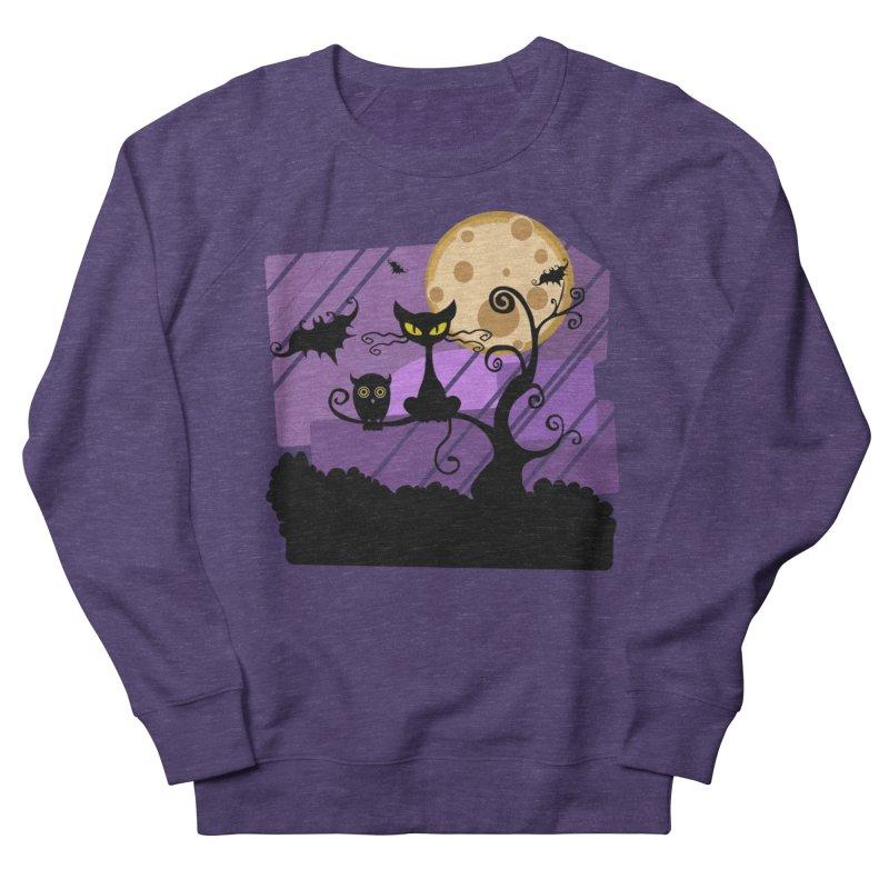 Halloween Night Women's Sweatshirt by Shirt For Brains