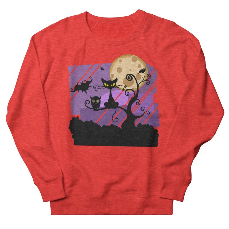 Halloween Night Women's Sweatshirt by Shirt For Brains