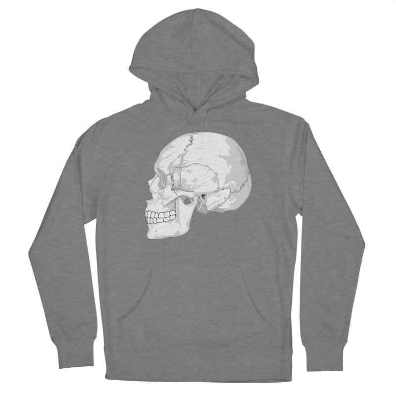 Skull Women's Pullover Hoody by Shirt For Brains