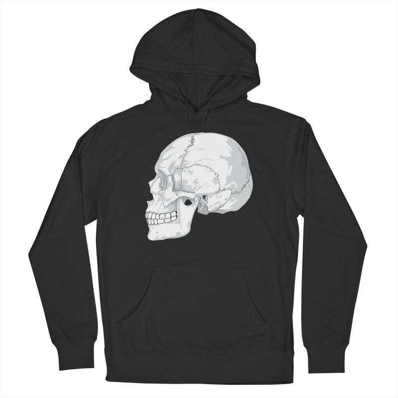 Skull Men's Pullover Hoody by Shirt For Brains