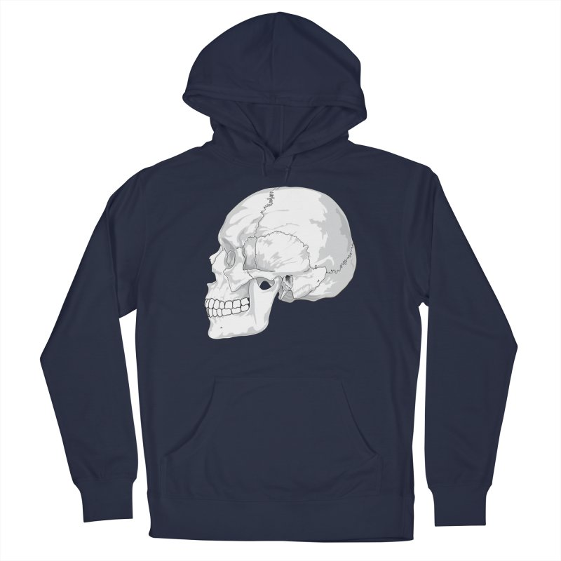 Skull Men's Pullover Hoody by Shirt For Brains