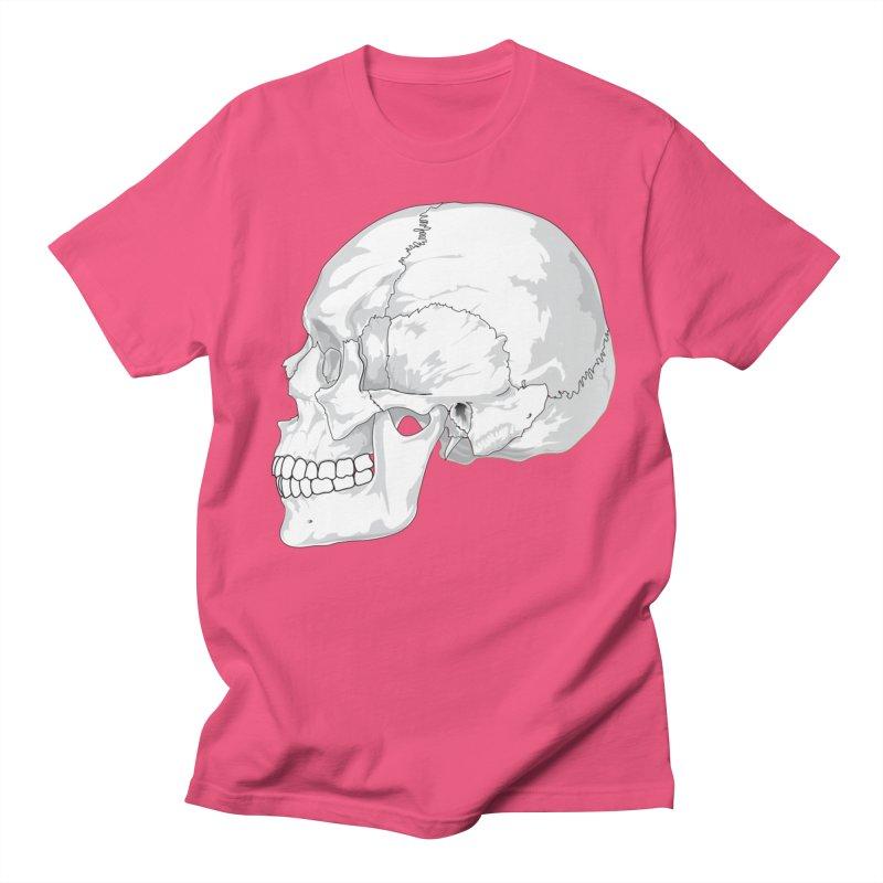 Skull Women's Regular Unisex T-Shirt by Shirt For Brains