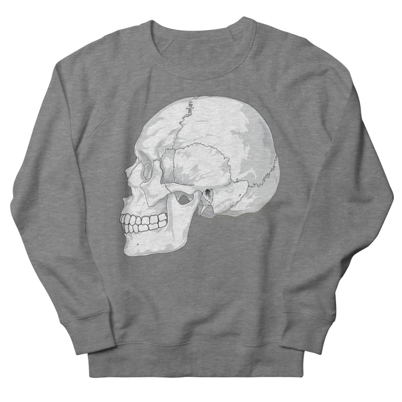 Skull Women's Sweatshirt by Shirt For Brains